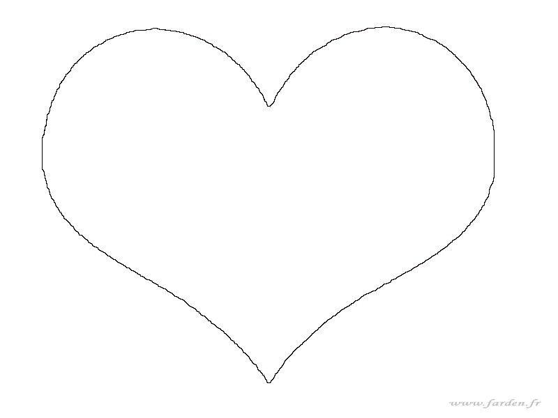un petit coeur qui fait des heureux modele coeur etiquette. Black Bedroom Furniture Sets. Home Design Ideas