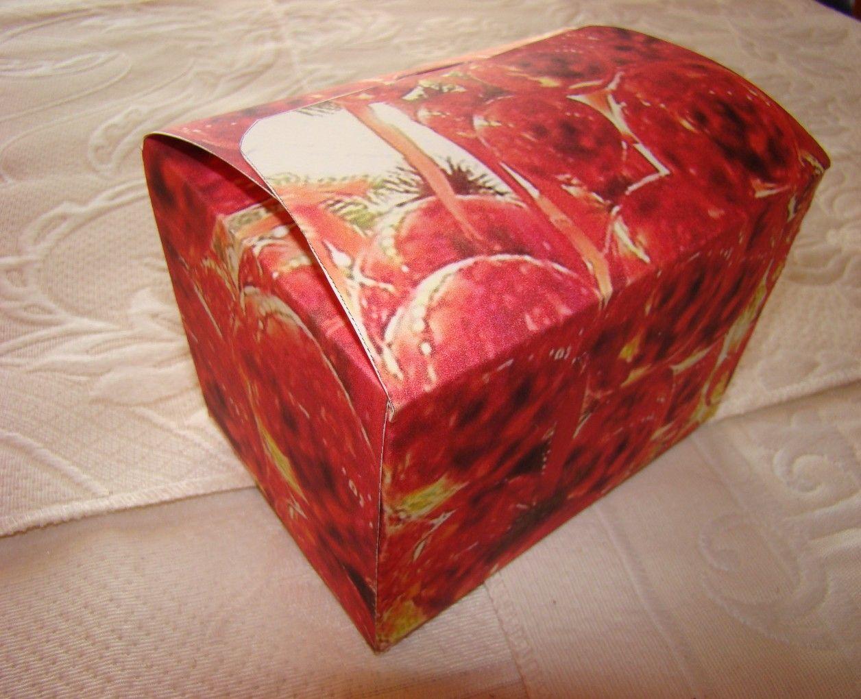 explications montage boîte pour chocolats maison